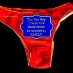 You Can Buy Brand New Underwear at Goodwill-Really!