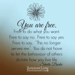 """In Order To Say """"Yes"""" To Me, I Will Be Saying """"No"""" To You"""