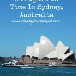 18 Ways to Have A Frugal Fun Time In Sydney, Australia