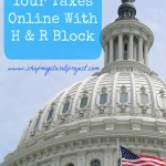 How To File Your Taxes Online With H & R Block