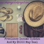 Freelancing Income Update: And My $5000 Goal For May