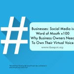 Today I Talk About Social Media and Businesses