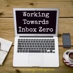Working Towards Inbox Zero