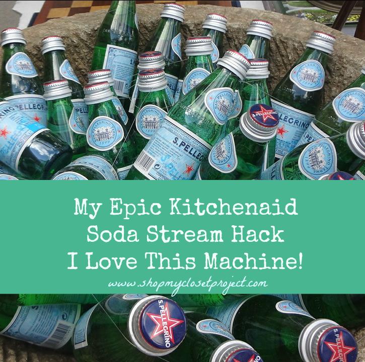 My Epic Kitchenaid Soda Stream Hack-I Love This Machine!