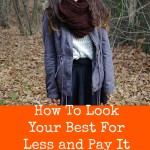 How To Look Your Best For Less and Pay It Forward