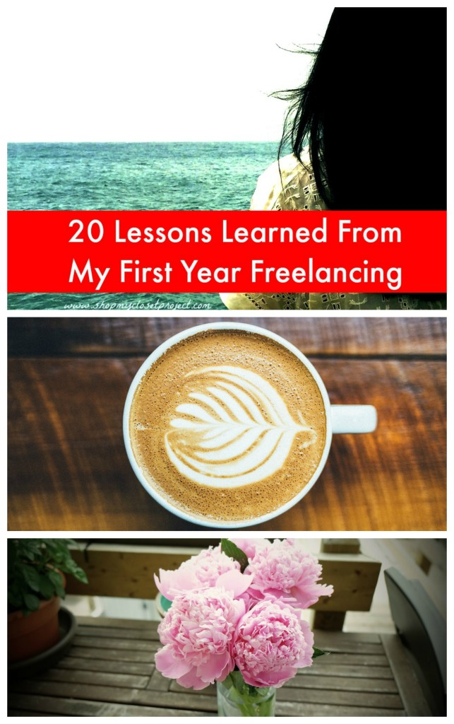 20 Lessons Learned From My First Year Freelancing