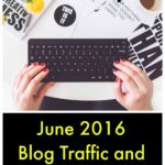 Blog Traffic and Income Report June 2016