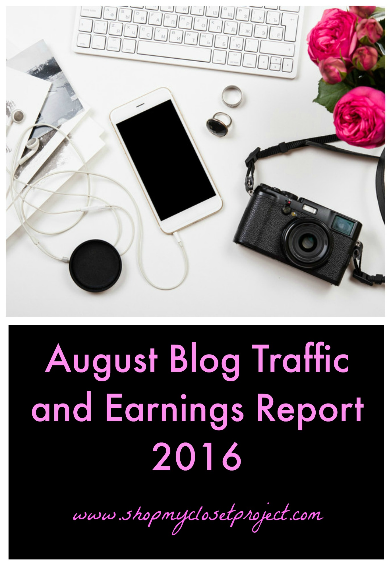 August Blog Traffic and Earnings Report 2016